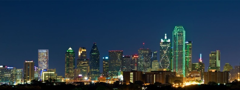 Skys The Limit2 Downtown Dallas At Night Via Flickr