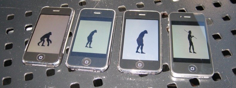 Evolution Of Man By Bytemarks Via Flickr