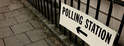 Labour Vs Conservative Polling Station