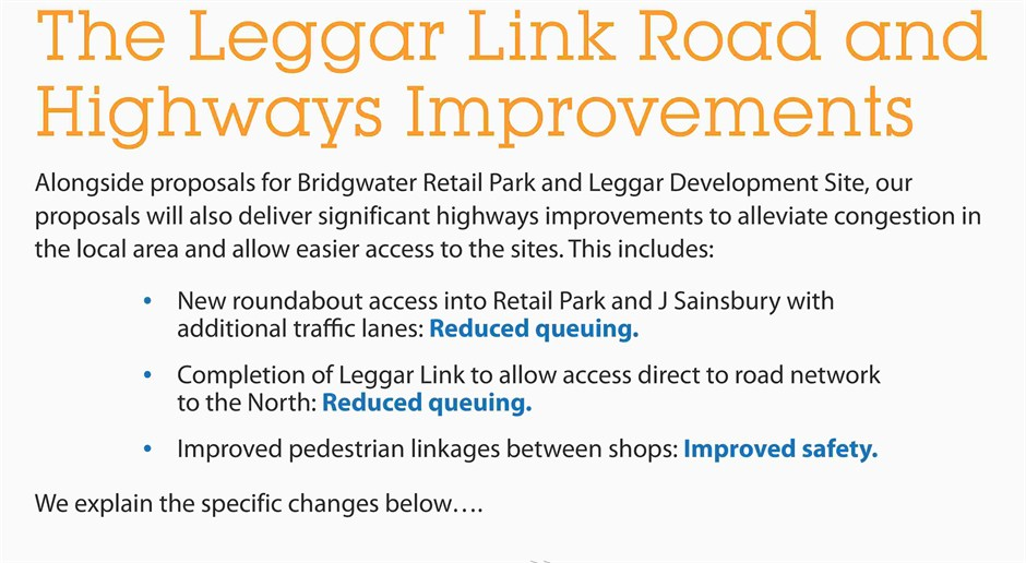 09 The Leggar Link Road And Highways Improvements Amended