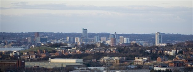 Cityscape From Morley By Clare Black